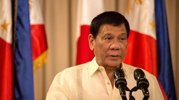 El presidente de Filipinas, Rodrigo Duterte, recientemente