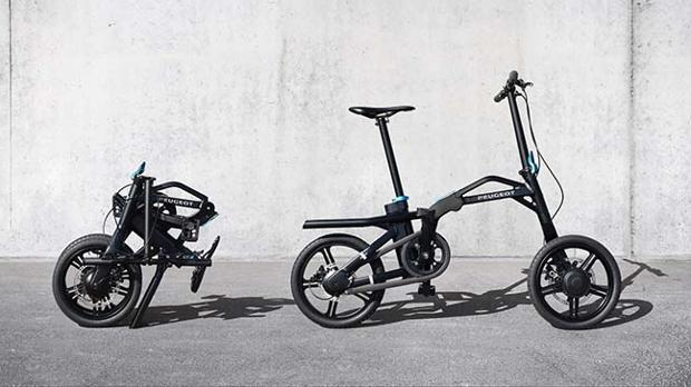 Peugeot ef01, eléctrica, versátil y plegable