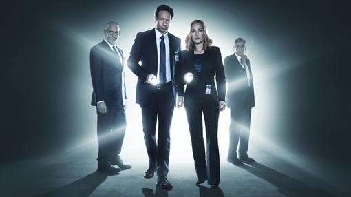 Cartel de la miniserie de «Expediente X»