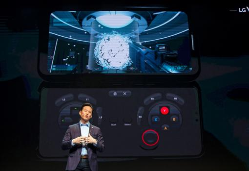 LG presenta el V50 ThinQ