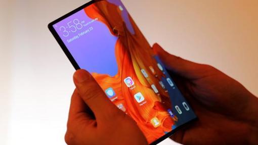 Detalle de Huawei Mate X