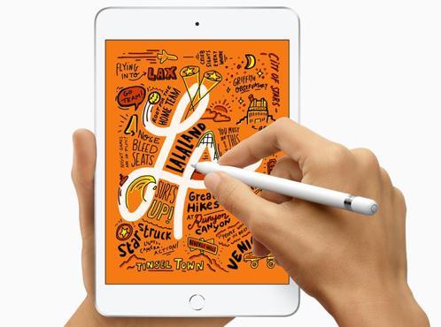Detalle del iPad mini