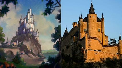 Castillos y templos que de verdad inspiraron a Disney