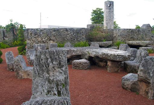 Interior del «Castillo de Coral»