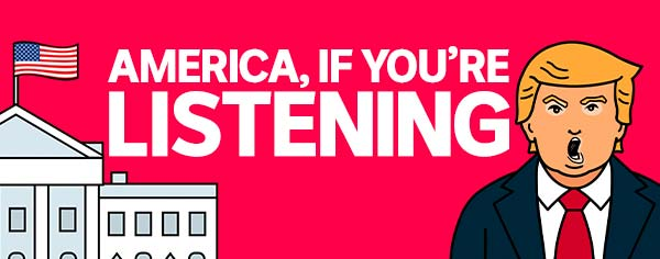 America, If You're Listening audio player podcast image