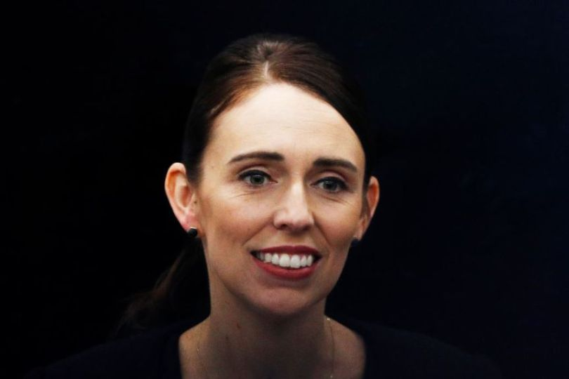 A photo of New Zealand PM Jacinda Ardern smiling