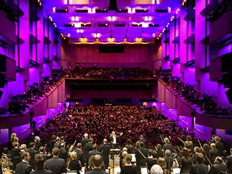 Queensland Symphony Orchestra performing at QPAC in Brisbane.