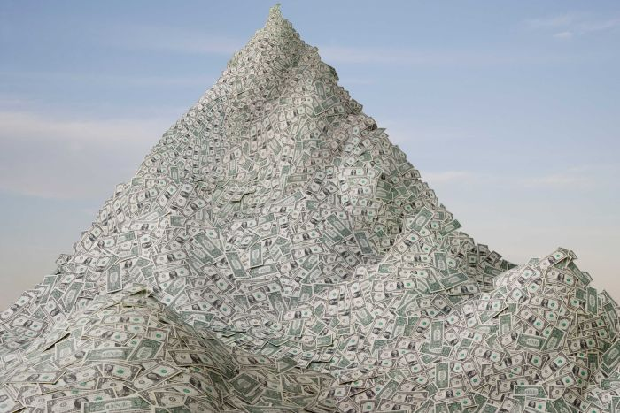 Mountain of money