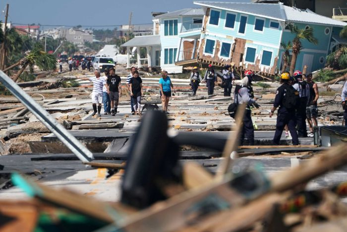 About 1,000 people lived in Mexico Beach where Hurricane Michael made landfall.