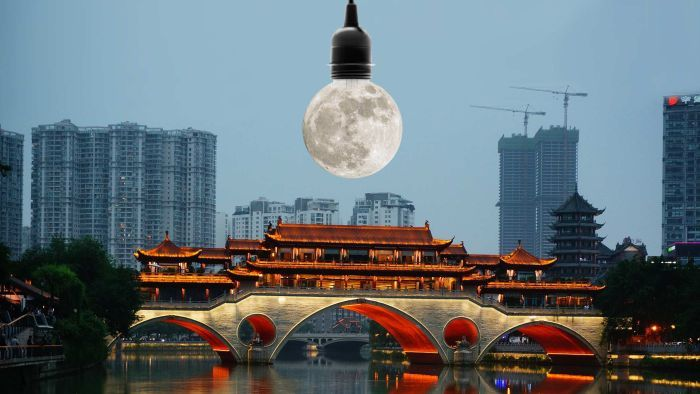 China Plans To Launch Artificial Moon Bright Enough To