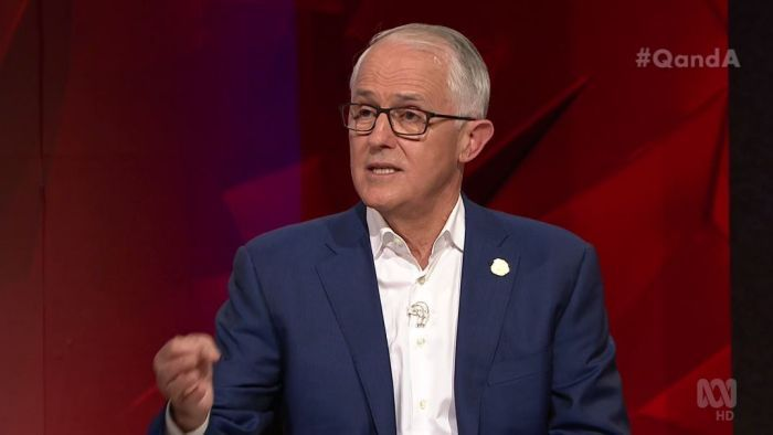 "Malcolm Turnbull names ""the insurgents"" behind the leadership spill."