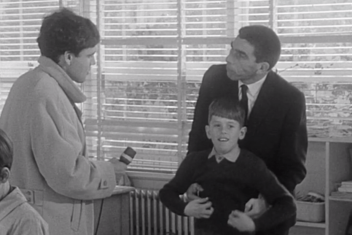 Screenshot of ABC program This Day Tonight's 1968 report on children with autism.