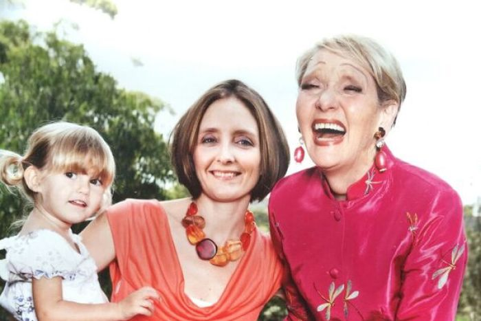Jeannie Little (R) with her daughter Katie M (middle).