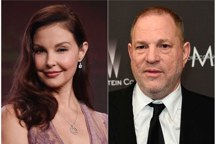 Composition of Ashley Judd and Harvey Weinstein