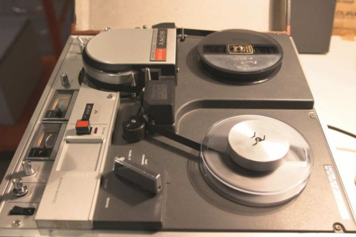 An old tape player used by The National Archives to help digitise video and audio