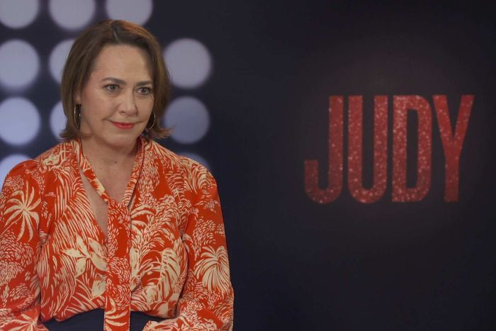 Lisa Millar at Judy film junket in Melbourne.