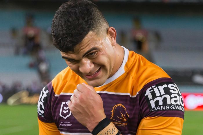Brisbane Broncos star David Fifita.