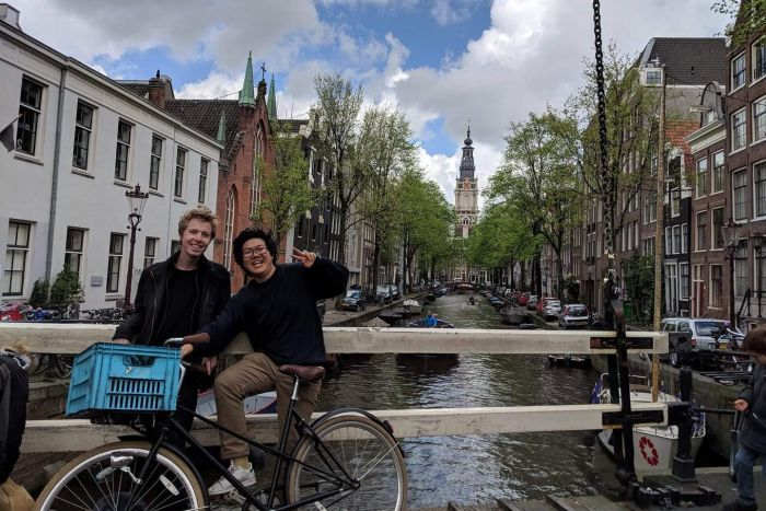 Chris Phung in Amsterdam