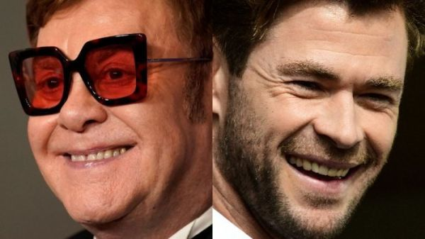 Elton John joins flood of celebrity donations to fire relief, matching Chris Hemsworth