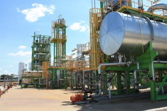 Linc Energy Underground Coal Gasification (UCG) pilot plant at Chinchilla