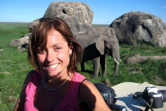 Jenna Donley, who was attacked and killed by the pygmy elephant in Malaysia.