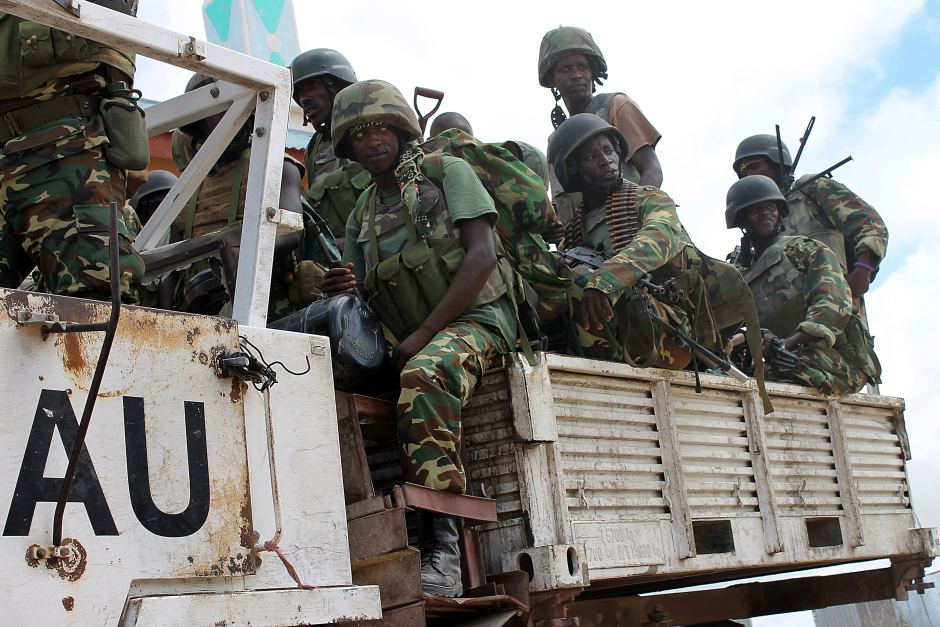 Image result for African Union Troops, in somalia, photos
