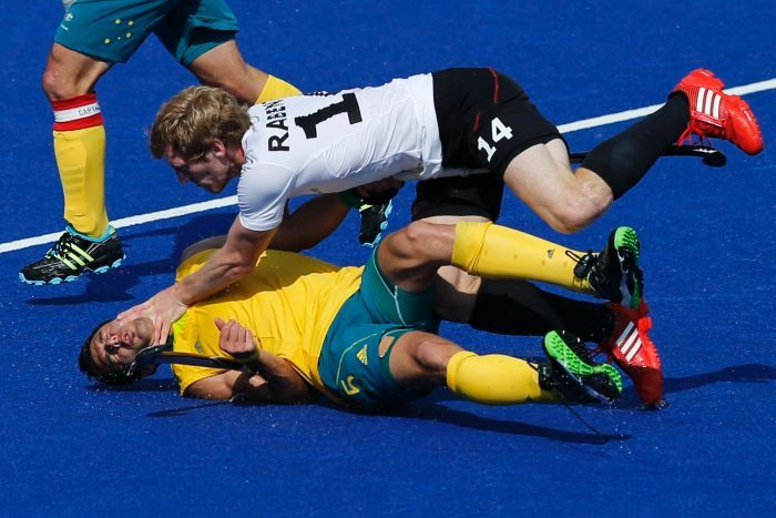 Australia's boomers have beaten nigeria in olympic basketball and the men's hockey team has thumped india, but the olyroos couldn't hang on against spain. Kookaburras clipped by Germany - London 2012 Olympic Games ...