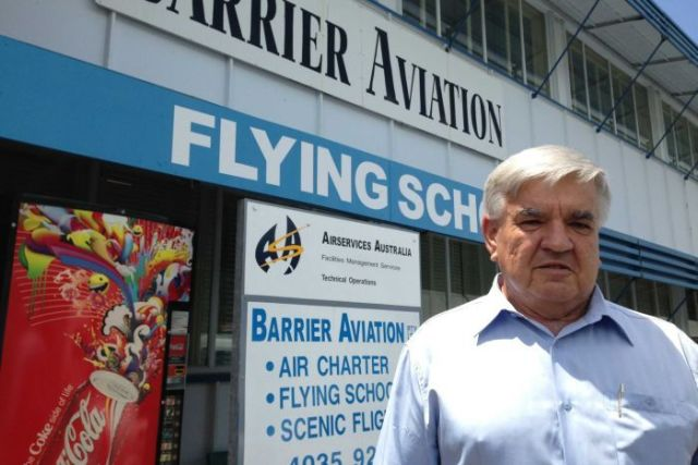 Barrier Aviation owner and managing director David Kilin