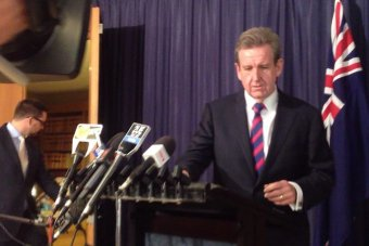 Barry O'Farrell resigns