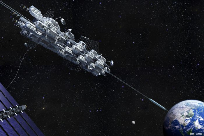 Japanese space elevator 2