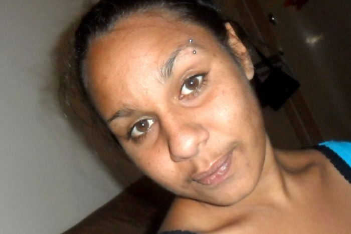 A selfie shot of Ms Dhu, who died in police custody in South Hedland.