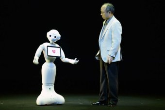 Softbank shows off 'emotional' robot called Pepper