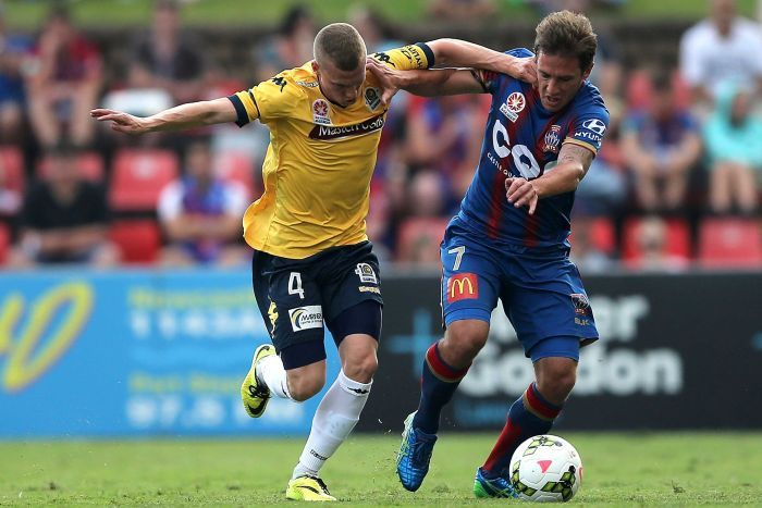 Newcastle Jets Central Coast Mariners Round 8