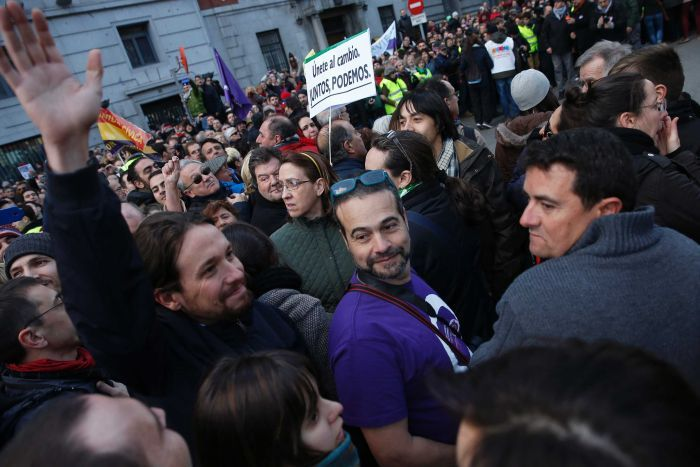 Spain anti-austerity march