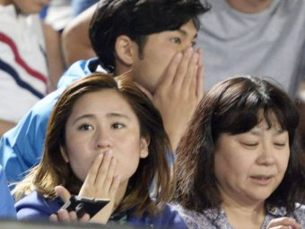 People react to earthquake in Japan