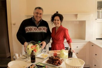 Joe Hockey and Annabel Crabb