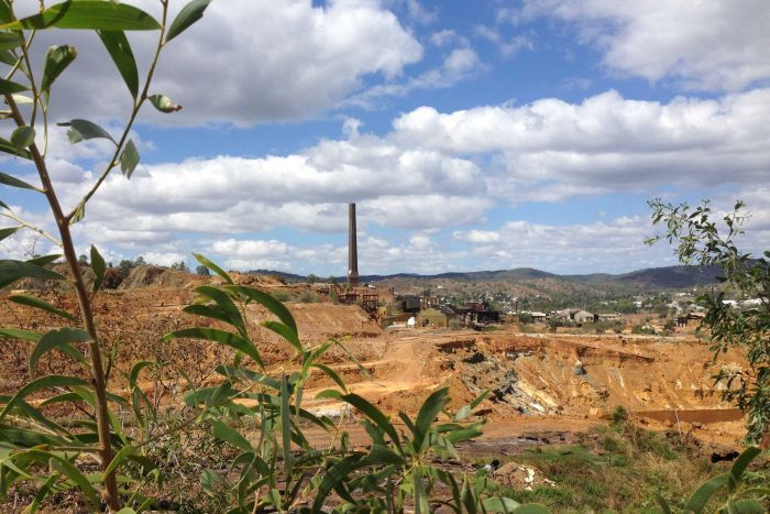 Mount Morgan mine site