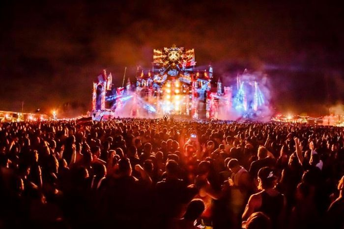 Defqon Dance Music Festival stage.