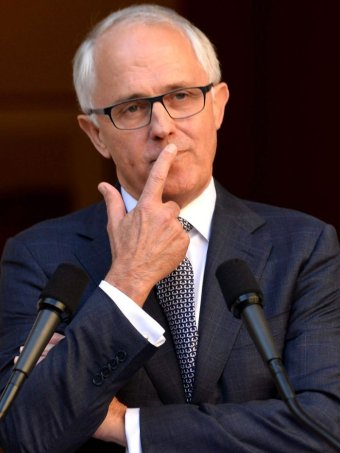 Malcolm Turnbull at press conference