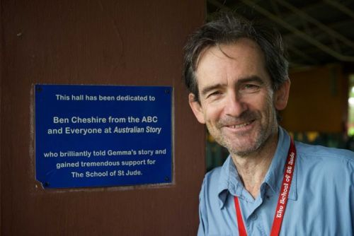 Australian Story producer Ben Cheshire