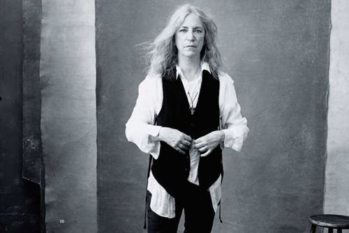 Patti Smith's portrait for the 2016 Pirelli calendar