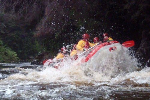 Rafting the King River