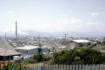 The view of Port Kembla from nearby Warrawong in 1965.