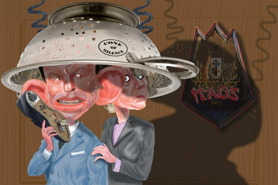 One of cartoonist Rocco Fazzari's depictions of former prime minister, Tony Abbott