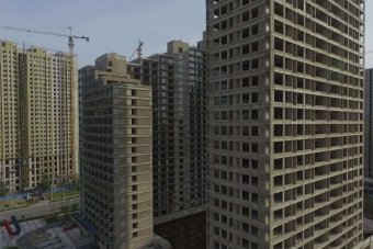 A ghost city in north-eastern China, built to accommodate workers who never came.