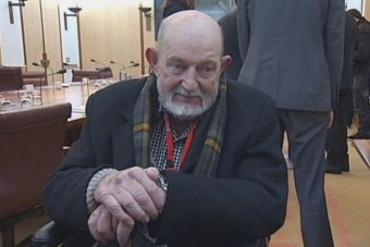 Max Bromson in Canberra in 2014.