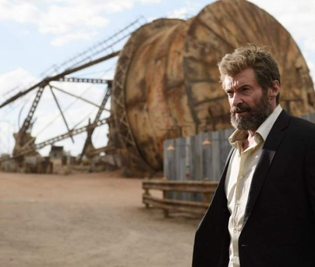Hugh Jackman In A Scene From Logan
