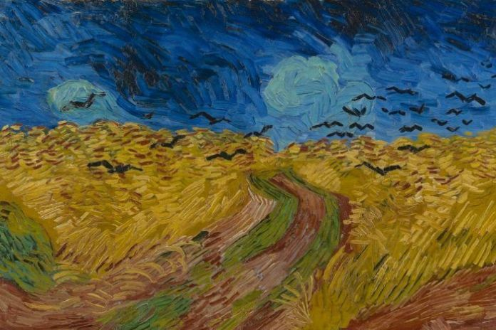 The original Wheatfield With Crows