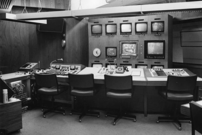 An archive photo showing a transmission control panel.
