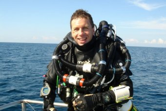 Diver Paul Garske remembers diving in Sydney's 'first' harbour tunnel.